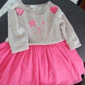 Baby gap sweatshirt/tulle dress